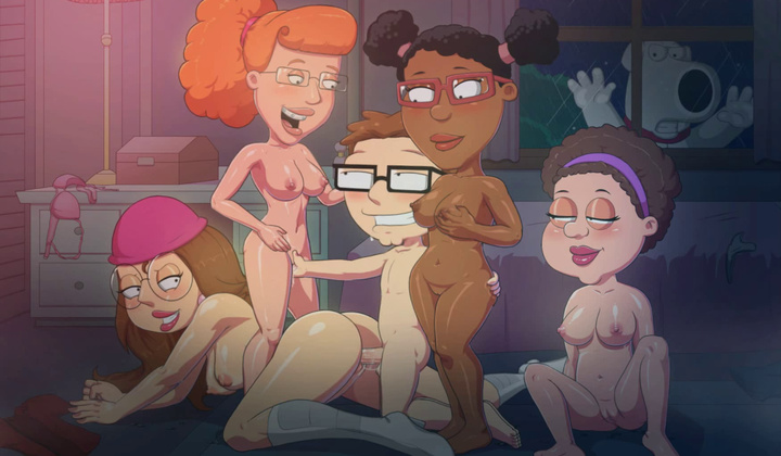 Anime - Family Guy Orgy